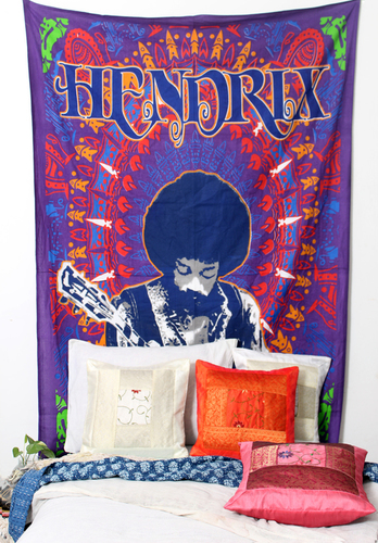 Jimmi Hendrix Wall Hanging Tapestry
