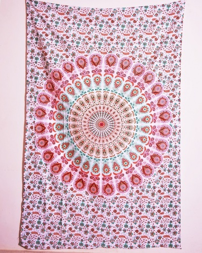 Printed Mandala Wall Tapestries