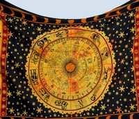 Indian Printed 100% Cotton Wall Tapestries