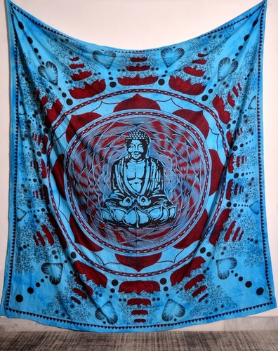 Religious Buddha Printed Wall Tapestries