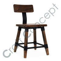 Square Wooden Chair