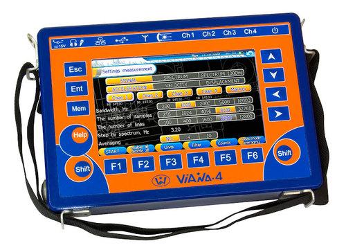 Multi-Channel Vibration Data Collector - ViAna 4