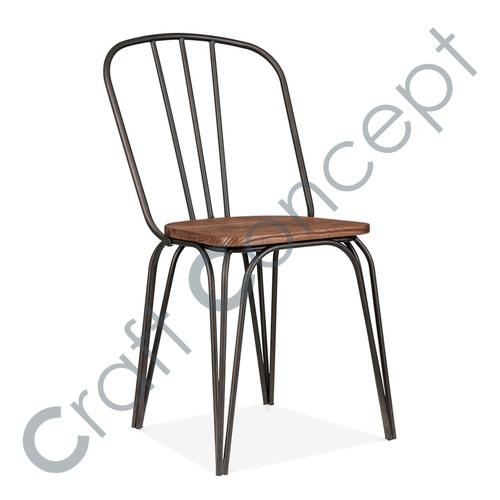 Wood & Metal Chair