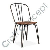 Wood & Metal Chair