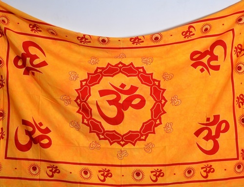 Religious Om Printed Wall Tapestries