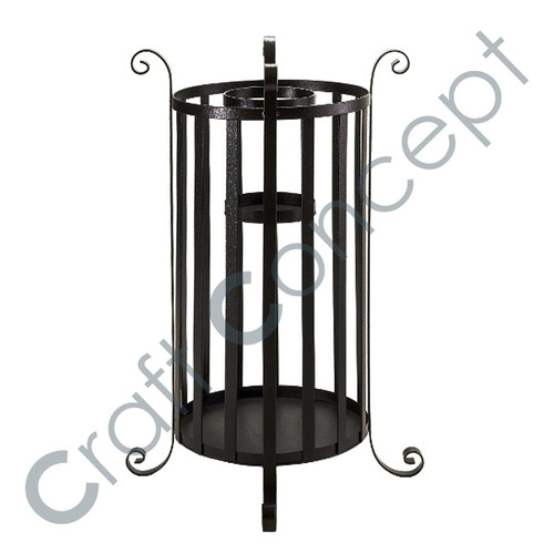 Black Metal Umbrella Stand