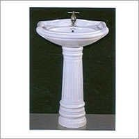 Oval Pedestal Wash Basin