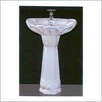 22x17 Supreme Set Pedestal Wash Basin