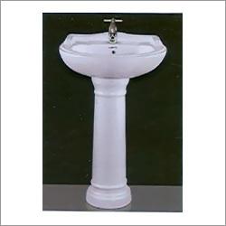 Gold Star Set Pedestal Wash Basin