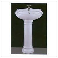 Gold Star Set Pedestal Wash Basin