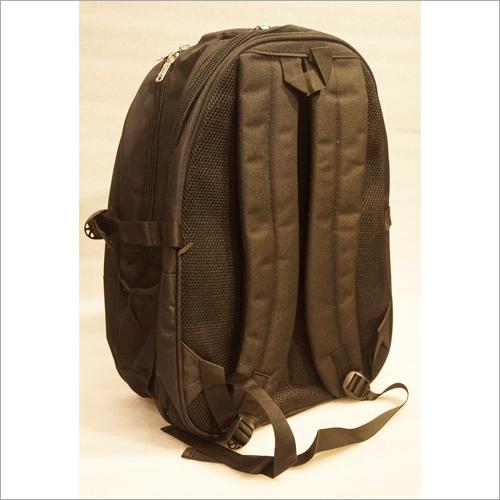 Plain Black School Bag