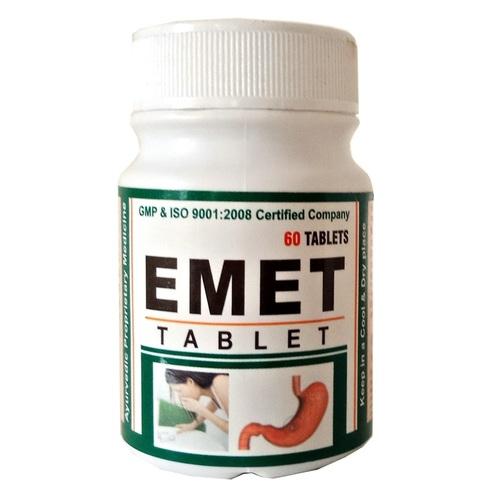 Ayurvedic Herbal Medicine For Acidity - Emet Tablet