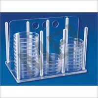 MEI Rack For Petri Dishes