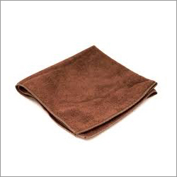 Brown Microfiber Cloth Towel