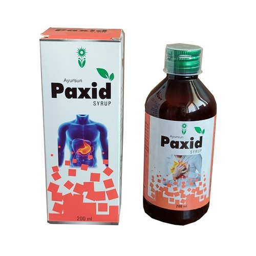 Ayurvedic Medicine For In Acid Peptic-Paxid Syrup