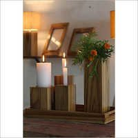 Corner Table Vase