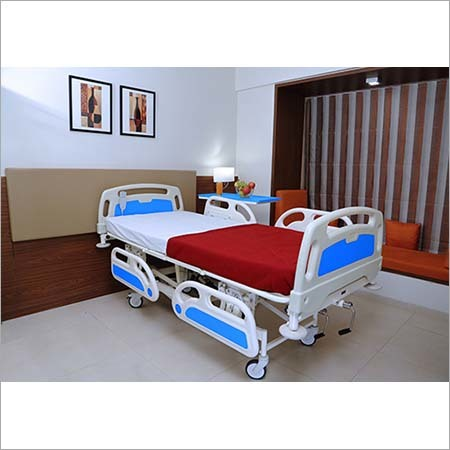 FIVE FUNCTION SEMI MOTORIZED ICU BED