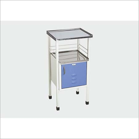 BEDSIDE LOCKER (STANDARD) TWO SS TOP