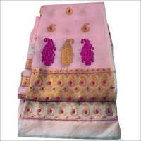 Ladies Embriodery Mekhela Chador