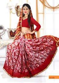 Stylish Bandhani Saree