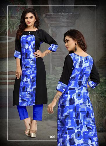 Cotton Blue Dress