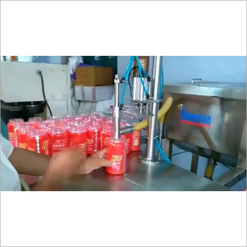 Semi-automatic Ghee Filling Machine