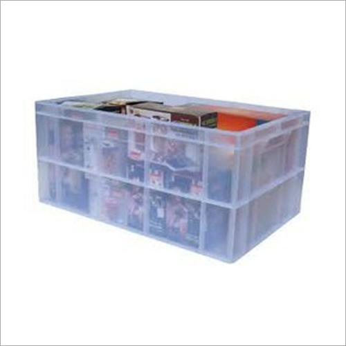 Transparent Plastic Crates