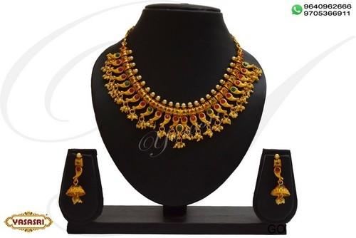 Ladies designer yantic necklace