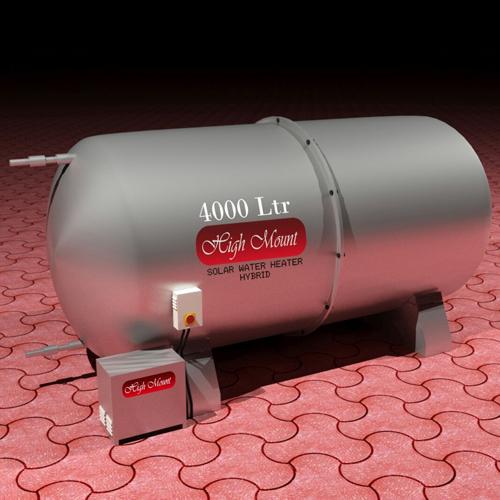 Solar Hybrid Water Heater