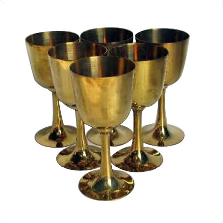 Metal Glass Set