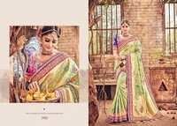 Tranditional Touch Pure Silk Designer Saree