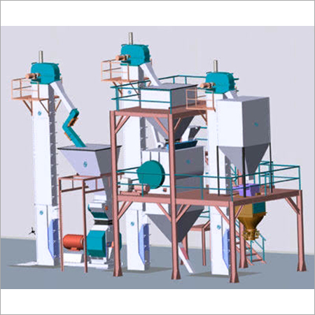N Series Vertical Cattle Feed Mash Plant