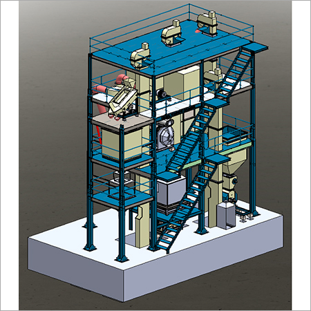 M-Series Vertical Poultry Feed Pellet Plant