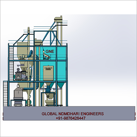 S8-Series Computerized Poultry Feed Pellet Plant