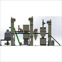 Semi Vertical Poultry Feed Pellet Plant