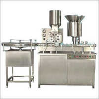Two Head Powder Filling Machine