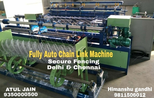 Chain Link Machine For Wire Mesh