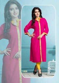 pinky and pink kurti and kurta