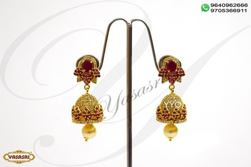 Cz New Model Earrings