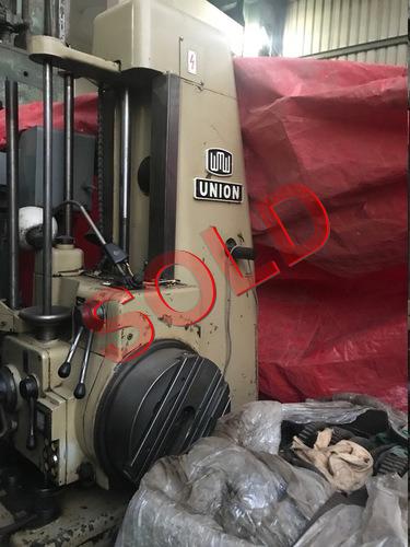 UNION WMW BFT 63 Horizontal Boring Machine