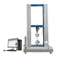 Electronic double phase universal tensile strength testing machine