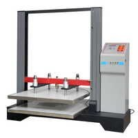 Automatic compressed paper board press pressure testing machine