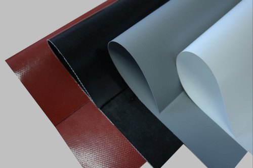 Silicon rubber coated glass fabric Products