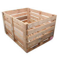 Industrial Wooden Pallet Box