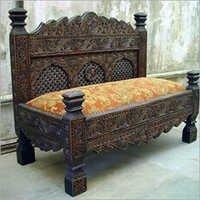 Wooden Handicraft Sofa