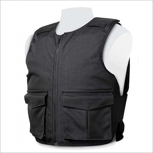 Black Overt Stab Resistant Vest
