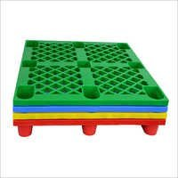 Open Deck Nestable Plastic Pallet