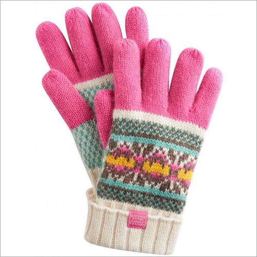Ladies Woolen Hand Gloves
