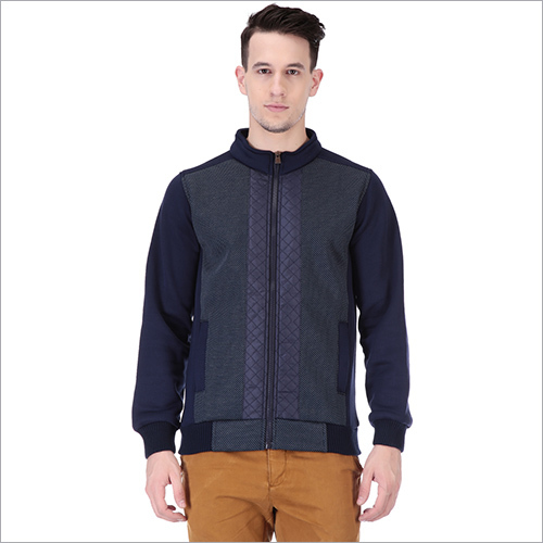 Mens Stylish Fleece Jacket