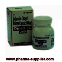 DINEX EC 250mg Capsules